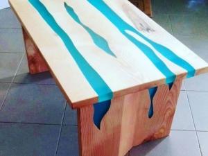 Tavolino-Legno-resina